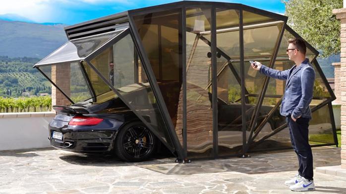 Где купить переносной гараж гараж заказать на дом