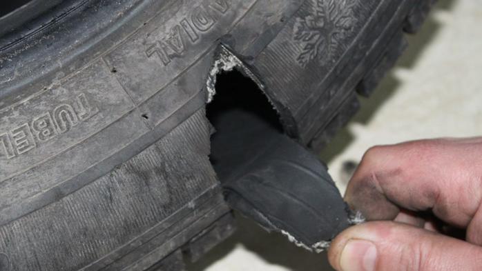 Шина боковой порез ремонт своими руками